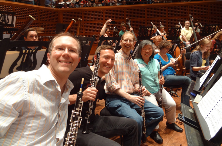 Davies Hall oboes
